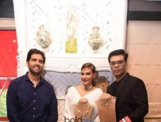 Karan Johar At Stylist Meet For Tyaani Jewellery Photos