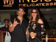 Karan Singh Grover And Bipasha Basu Spotted At Indigo Photos