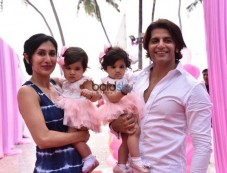 Karanvir And Teejay Sidhu's Two Angels Bella And Vienna Birthday Party Photos