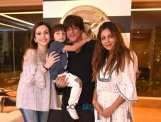 Nita Ambani At Gauri Khan Store With Shahrukh Khan And Abram Photos