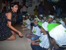 Pooja Hegde Birthday With Smile Foundation Kids Photos