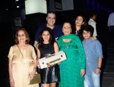 Raveena Tandon Spotted With Family At Hakkasan Photos