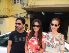 Richa Chadda And Kalki Koechlin For Jia And Jia Promotion In National College Bandra Photos
