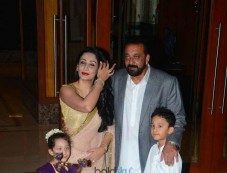 Sanjay Dutt Diwali Party At His Home Photos