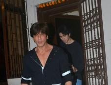 Shahrukh Khan Spotted At Shankar Mahadevan Studio Photos