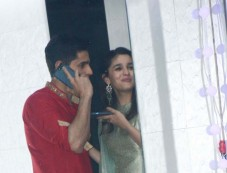 Sidharth Malhotra And Alia Bhatt Spotted At Sanjay Kapoor Bash Photos