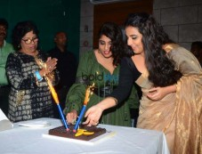Vidya Balan & Gauhar Khan At RJ Malishka's Birthday Celebration Photos