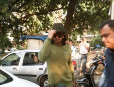 Zaira Wasim,Ranveer Singh And Sidharth Roy Kapur Spotted At Aamir's Khan House Photos