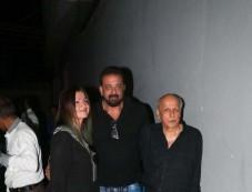 Sanjay Dutt Snapped At Vishesh Films Office Photos