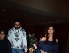 Bachchan Family Celebrating Aaradhyas Birthday At J W Marriott Photos