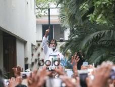 Amitabh Bachchan'S Bungalow Jalsa In Mumbai Photos