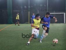 Aahan Shetty Playing Football At Juhu Photos
