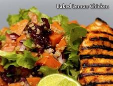 Baked Lemon Chicken Recipe Photos