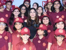 Bhumi Pednekar And Manish Paul At  The Occasion Of Children Day Photos