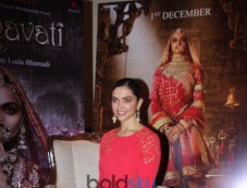 Deepika Padukone Promotes Padmavati At Taj Land End Mumbai Photos