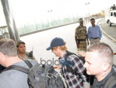 Ed Sheeran And Others Celebs Spotted At Airport Photos