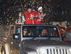Fukrey Returns Team GRAND Entry At 'Mehbooba Song' Launch Photos
