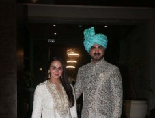 Gautam Gupta,Smriti Khanna Wedding Reception Photos