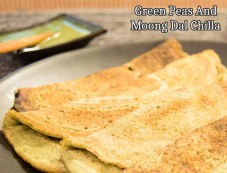 Green Peas And Moong Dal Chilla Recipe Photos