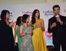 Karan Johar At Press Meet For Ishq FM Photos