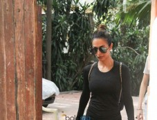 Malaika Arora Khan Spotted At Gym in Bandra Photos