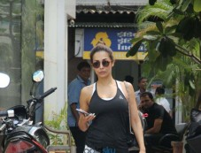 Malaika Arora Khan Spotted At Gym Photos