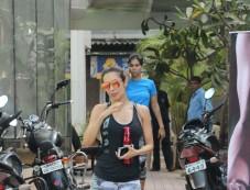 Malaika Arora Khan Spotted At Gym Photos