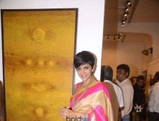 Mandira Bedi At An Art Exhibition Photos