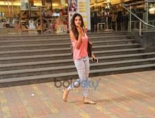 Nidhi Agarwal Spotted At Coffee Shop Bandra Photos