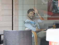 Riteish Deshmukh Spotted At CCD Photos