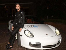 Saqib Saleem Spotted With His New Car Photos