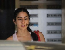 Sara Ali Khan Spotted Gym Photos