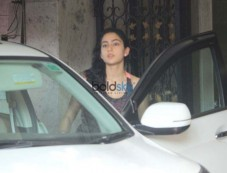 Sara Ali Khan Spotted At Gym Photos