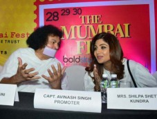 Shilpa Shetty At The Announcement Of The Mumbai Fest 2017 Photos