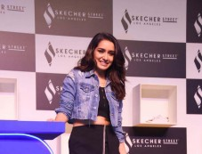 Shraddha Kapoor Launch Of Their Street Collection At The Skechers Photos
