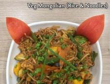 Stir-fried Veg Mongolian Rice And Noodles Recipe Photos