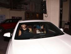 Tiger Shroff And Disha Patani Spotted At PVR Juhu Photos