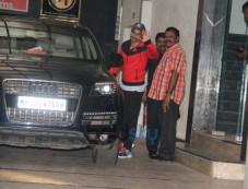Varun Dhawan Spotted At Gym Photos