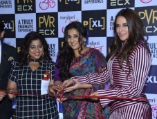 Vidya Balan, Neha Dhupia, RJ Malishka At Launch Of Its Big Screen PVR Photos