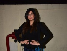 Zareen Khan At The Screening Of Aksar 2 Photos