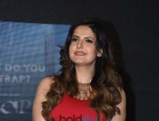Zarine Khan For 'Aksar 2' Movie Launching Photos