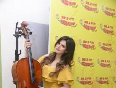 Zarine Khan Promoting Aksar 2 At Radio Mirchi Photos