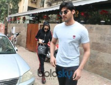 Aahan Shetty Spotted At Indigo Bandra Photos