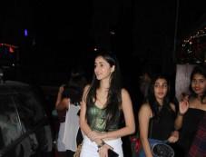 Ananya Pandey Spotted At Indigo Bandra Photos