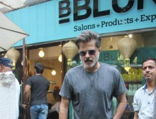 Anil Kapoor Spotted At B Blunt Salon In Bandra Photos