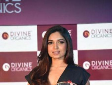 Bhumi Pednekar At Launch Of Skin Products By Divine Organics, In New Delhi Photos