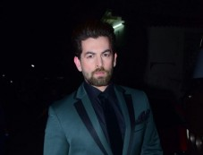 Dharmendra And Neil Nitin Mukesh On The Sets Of The Drama Company Photos
