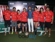 Dino Morea, Mandana Karimi, Shibani Dandekar & Others At Football Match Slum Soccer vs Roots Photos