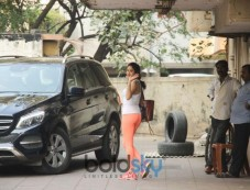 Jhanvi Kapoor Spotted At Gym In Bandra Photos