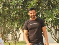 John Abraham Spotted At BKC Bandra Photos